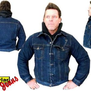 Kevlar jeans Jas, hoodie blouse