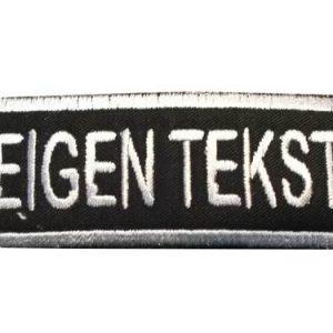 eigentext patch/vaandel